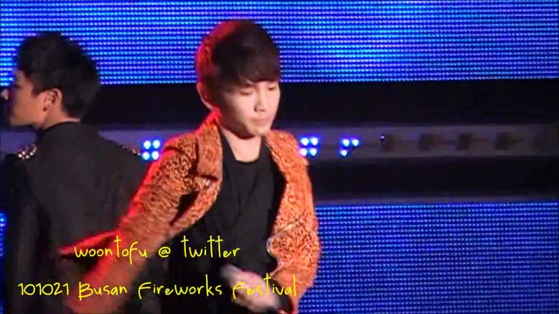 101021 Shinee - Lucifer at Busan Fireworks Festival