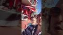 Нюша с мужем и его сыном в парке развлечений InstaStories, 06.01.19