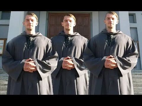 Agni Parthene. The choir of one. Радуйся Невесто хор из меня. Low deep voice. Andre Serba