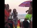 Honey this is how you throw a party in mykonos bitch
