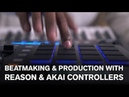 Beatmaking production with Reason AKAI controllers