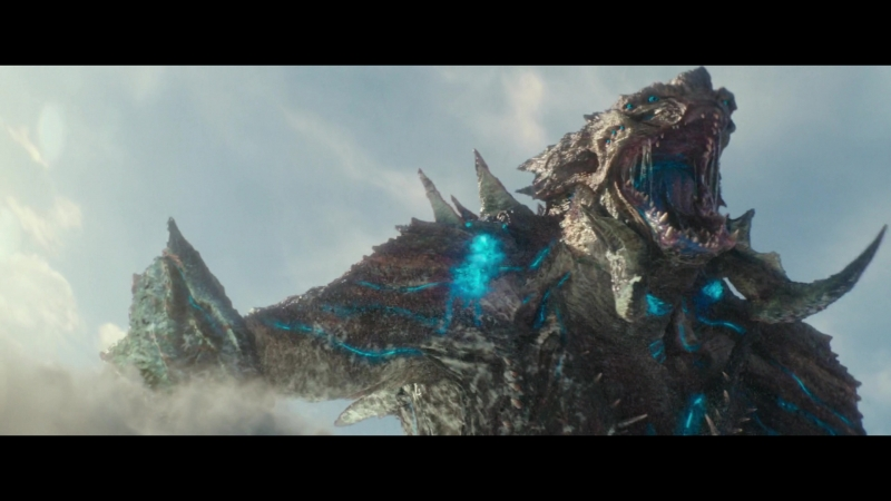 Мега-Кайдзю vs Бродяга и Задира (Mega-Kaiju vs Gipsy Avenger and Scrapper)(Pacific Rim: Uprising)(2018) Финальная Битва