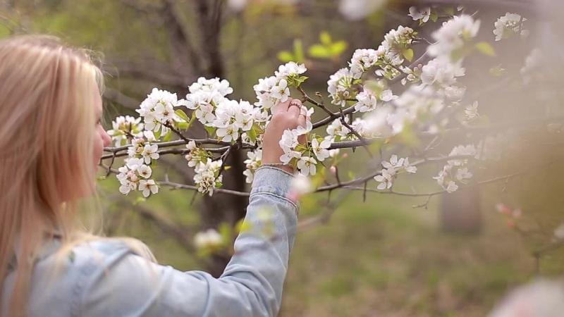 Кристина Фотопроект В цветущем саду