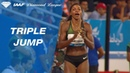 Caterine Ibarguen 14 96 Wins Women's Triple Jump IAAF Diamond League Rabat 2018