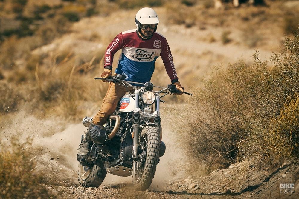 Fuel Bespoke Motorcycles: скрэмблер BMW R nineT Coyote