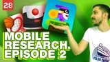 Mobile Games Research Episode 2. Kid is Playing Dunk Hoop, Helix Jump, Catch The Rabbit