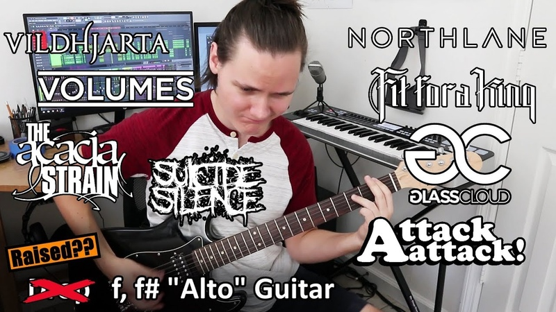 Metal Riffs Up An Octave (Up-Tuned f, fgb)