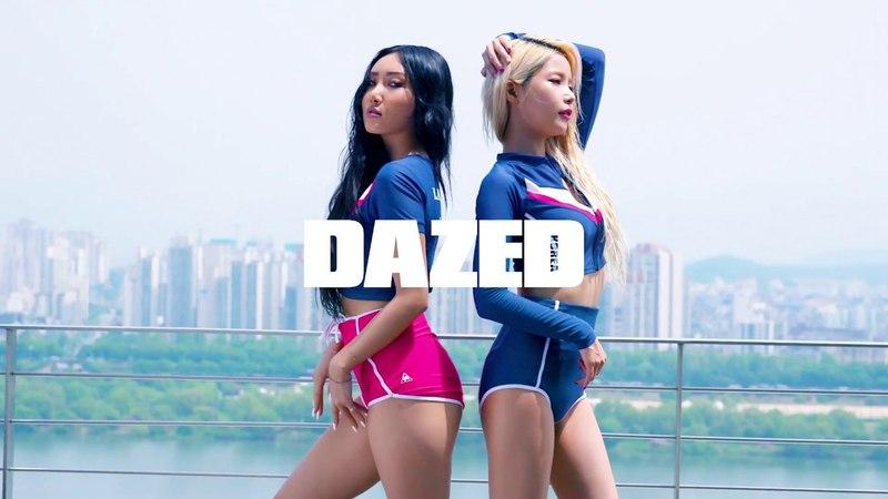 Dazed x le coq sportif 'MAMAMOO - HWA SA SOLAR'
