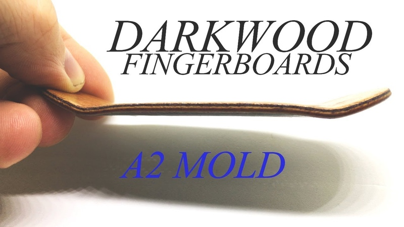DARKWOOD FINGERBOARDS / A2 MOLD / Fingerboard Review in 4K