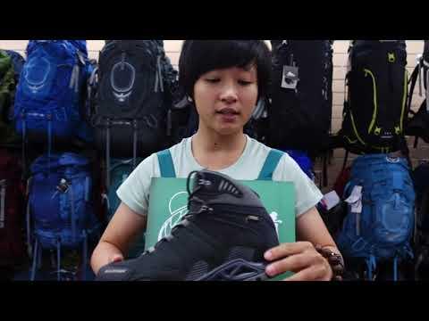Mammut Comfort Tour Mid GTX® 防水透氣登山鞋介紹