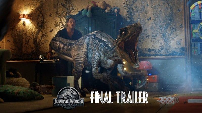 Мир Юрского периода: Падшее Королевство - Трейлер