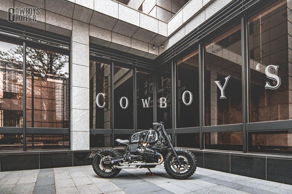 Cowboy's Chopper: скрэмблер BMW R1150R