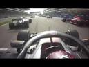 Verstappen start overtakes 2018 Russian GP