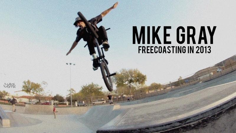 Mike Gray - Freecoasting in 2013 insidebmx
