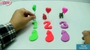 Learn Colors Numbers And Animals ❤ Toys Kids Videos