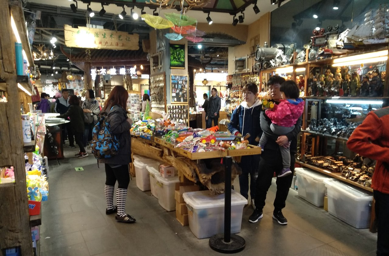 Где покупать сувениры в Шанхае?