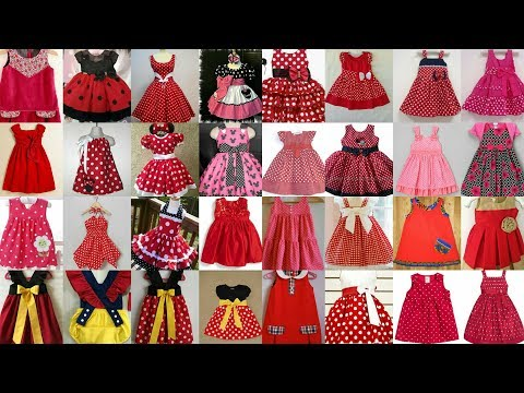 Baby Frocks Doted Styles 2018