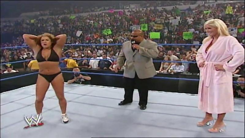 Torrie Wilson vs Nidia SD September 26 2002