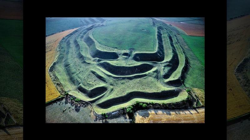 Смотри и думай... История 50. Мэйден Кастл. Великобритания. Look and think...Maiden Castle. UK.