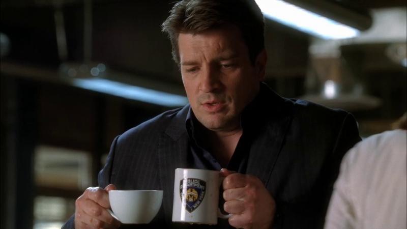 Castle 2x11 я принес тебе кофе