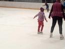 2018-04-15 Ева. Первые шаги на льду - конец тренировки