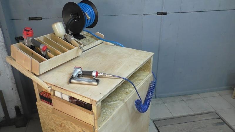 Шумозащитный ящик-бокс для воздушного компрессора / Air Compressor Box