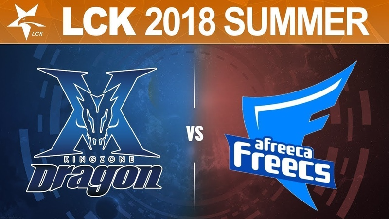 KZ vs. AFS - Игра 2 | Round 1 | LCK Summer Split Playoffs | King-Zone vs. Afreeca Freecs (2018)