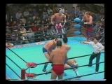 1992.10.02 - The PatriotJohnny SmithDory Funk Jr. vs. Giant BabaMasanobu FuchiJun Akiyama JIP