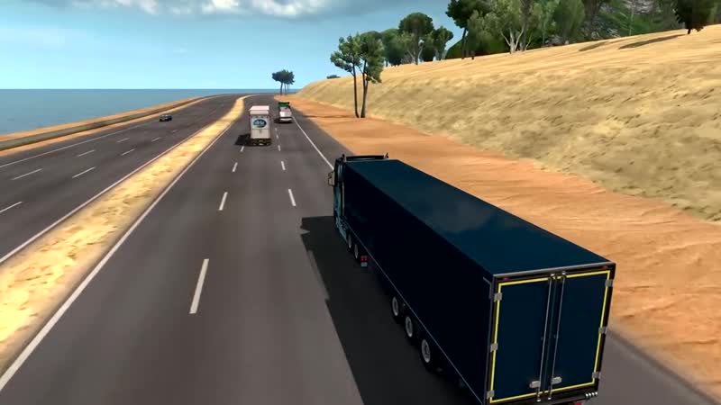 ALEXFRESH Трасса Бухта Нижнегорск Карта из Дальнобойщики 2 в Euro Truck Simulator 2