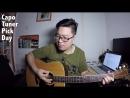 4 Các phụ kiện đi kèm với Guitar Nên chơi bằng móng Pick hay bằng tay