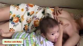 Breastfeeding Baby Breast Nursing - Breastfeed