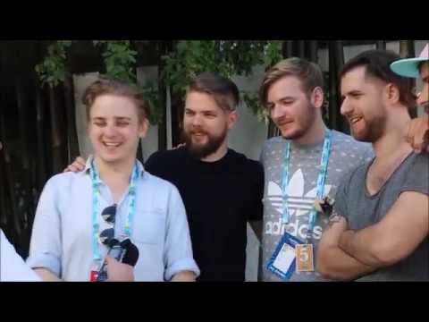 Eurovision 2018 Interview with AWS Hungary