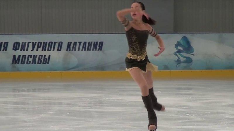 Alina Zagitova 20141205 25 103.02 V этап Кубка России 2014 Москва КП 28 35.31