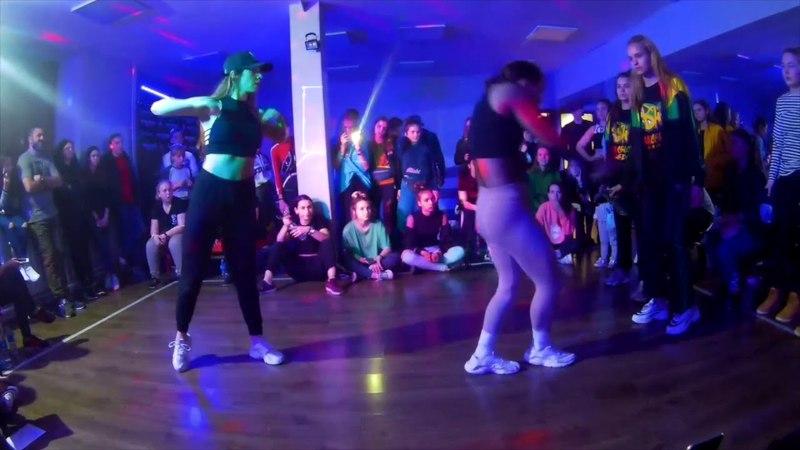 BOMBOCLAAT PARTY DANCEHALL 2*2 14 MEGAN BABINA VS VULGARNIE BELKI