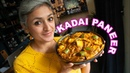 Kadai Paneer| vegetarian curry | food with chetna