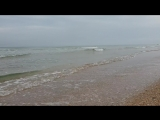 Анапа. Погода. 8.05.2018 море после дождя. джеметинский проезд.