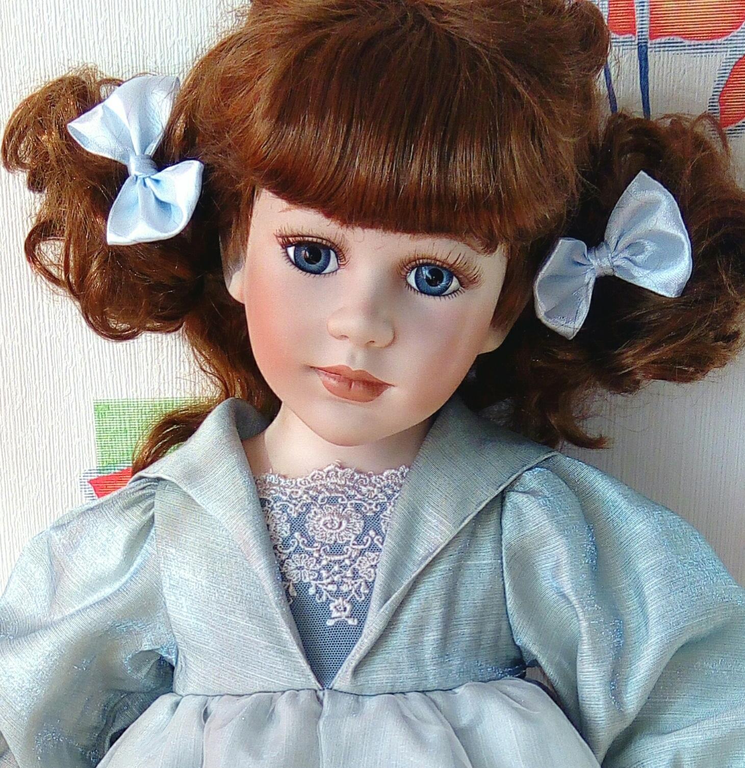 Фото фаянсовые куклы