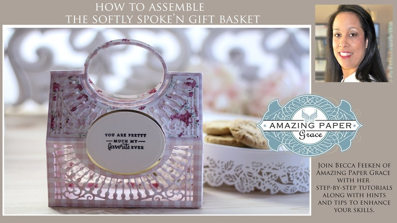 APG Die of the Month Softly Spoken Basket