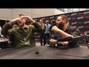 NYCC 2017- Interview with Sirens Alex Roe and Ian Verdun