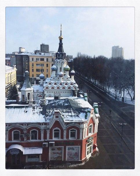 улица Волжская и храм