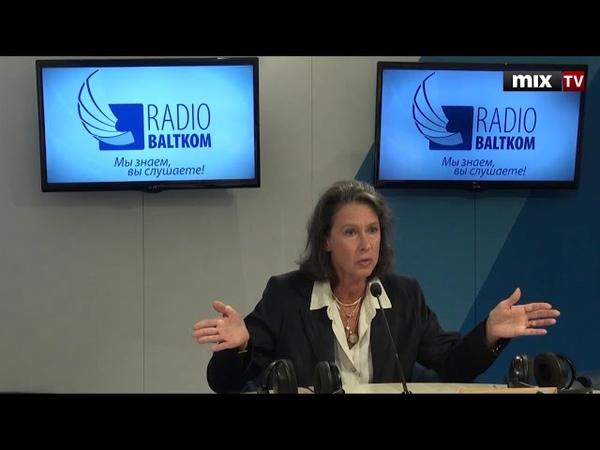 Елена Кондратьева-Сальгеро в программе Встретились, поговорили MIXTV