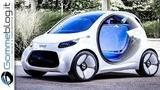 Smart Vision EQ ForTwo 2030 Autonomous Concept Car