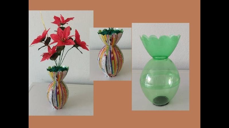 Ideias com garrafa pet e eva fácil para vender ou presentear,plastic bottle craft