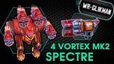 War Robots. Spectre 4 Vortex MK2. Part-2. Я теперь палач, а не пилот...