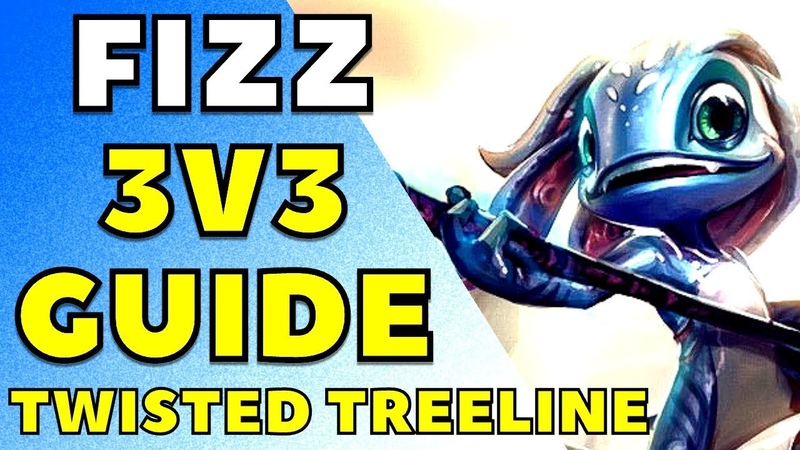 [ITA] FIZZ NELLA TWISTED TREELINE : Fizz nella Selva Demoniaca/ Fizz 3v3! - League of Legends - 3v3