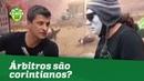 Árbitros são corintianos Sandro Meira Ricci dá MELHOR resposta!