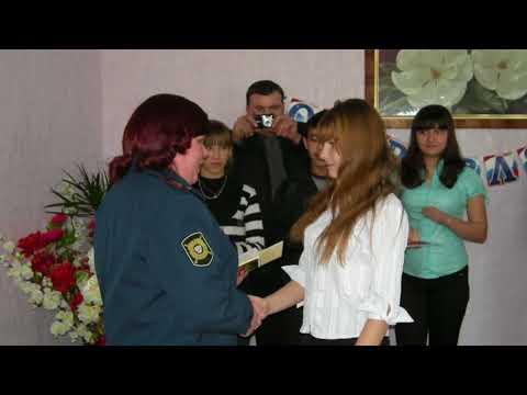 Торжественное вручение паспортов село Глядянское