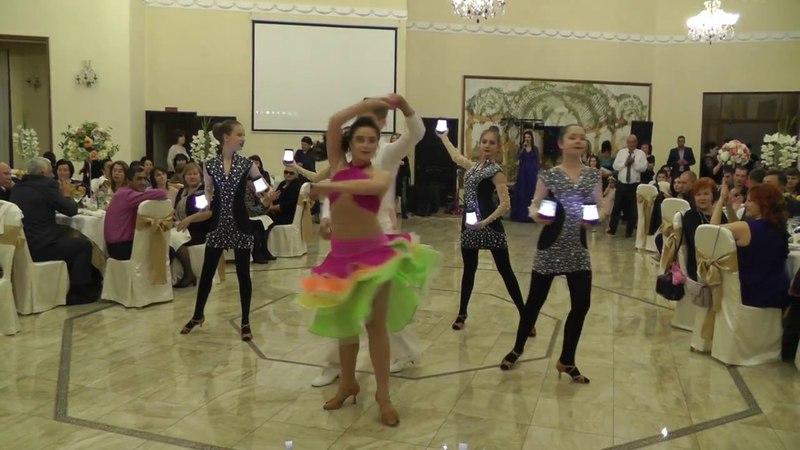 Танец Румба на свадьбе в Шато Эркен (21.04.2018г.)