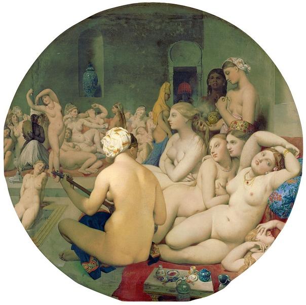 История одного шедевра. «Турецкие бани», Жан Энгр