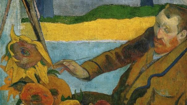 История одного шедевра. «Ван Гог рисует подсолнухи» (Портрет Винсента Ван Гога), Поль Гоген